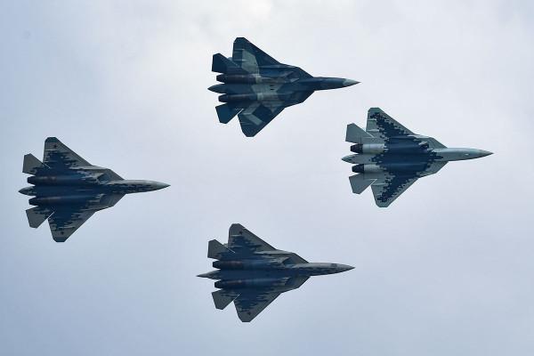 Российский истребитель Су-57 обладает искусственным интеллектом