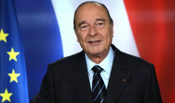 Умер Жак Ширак, в возрасте 86 лет.