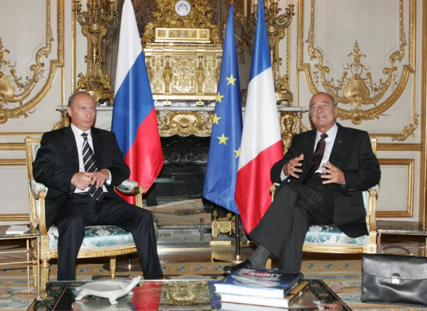 Владимир Путин послал жене Ширака ноту соболезнования
