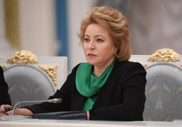 Валентина Матвиенко призвала женщин становиться «Лидерами России»