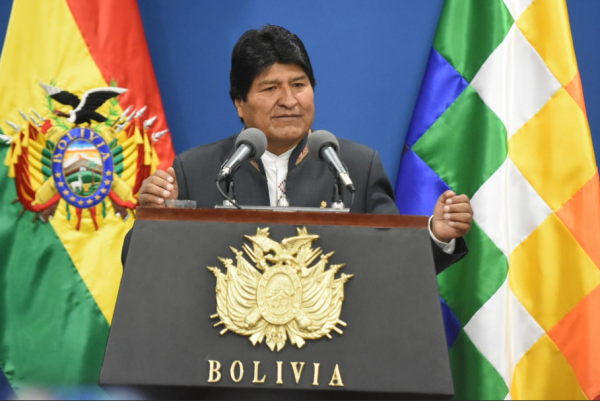 Штаты свергли Моралеса из-за боливийского лития