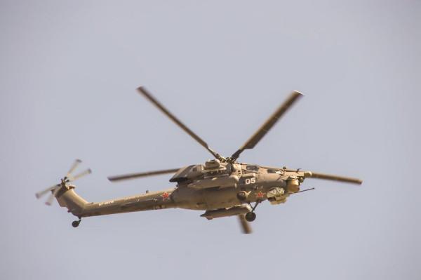 Российские вертолеты увеличивают сектор патрулирования в северных провинциях Сирии