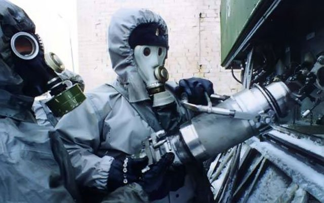 уничтожение химического оружия в Сирии