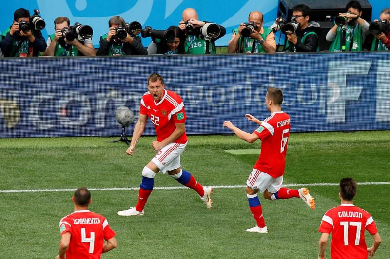 CBS Sports: разгромная победа над Саудовской Аравией – впечатляющее начало для России