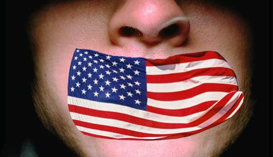 US fake values: Freedom of speech was invented