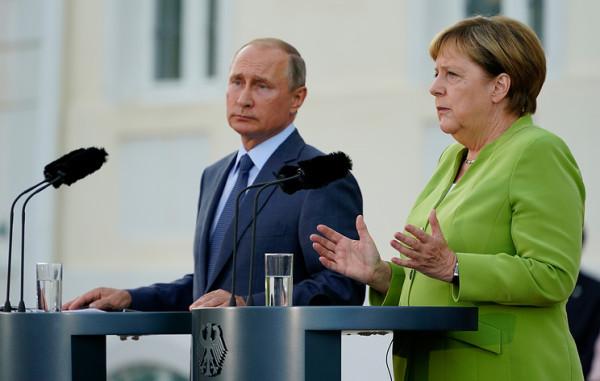 Ближневосточная повестка встречи Владимира Путина с Ангелой Меркель