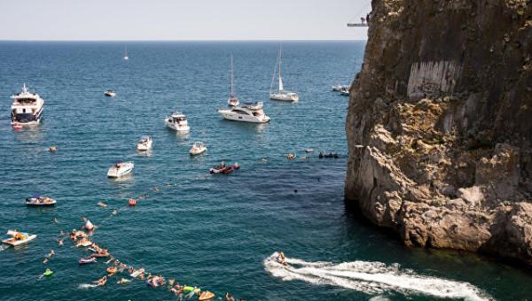 Участники турнира Freerate Cliff Diving World Cup высоко оценили курортные ресурсы Крыма