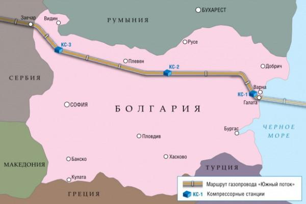болгария газ