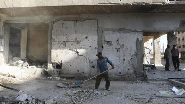 Вашингтон возложил восстановительную миссию в Сирии на ООН