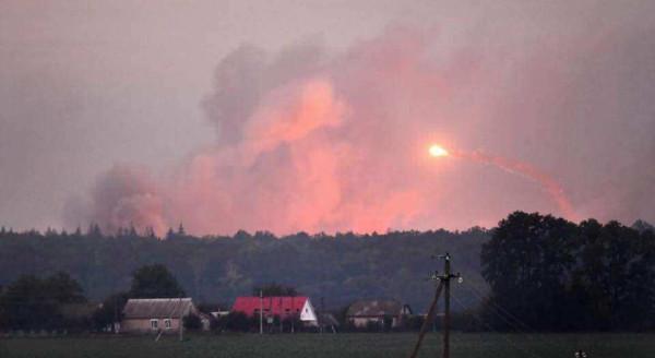 ВСУ заметает следы, взрывая военные склады по всей стране