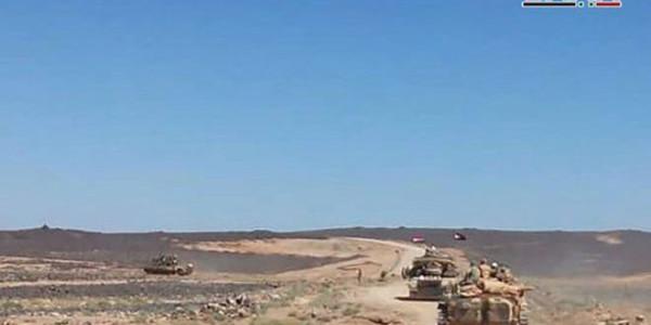 Силы проправительственной коалиции наносят удары по позициям моджахедов в сирийской Сувейде
