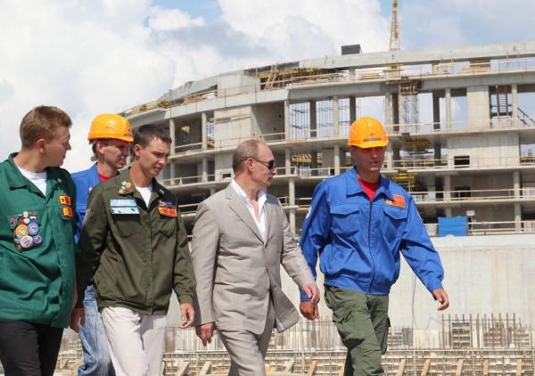 Владимир Путин поприветствовал участников  Всероссийского слета студенческих отрядов