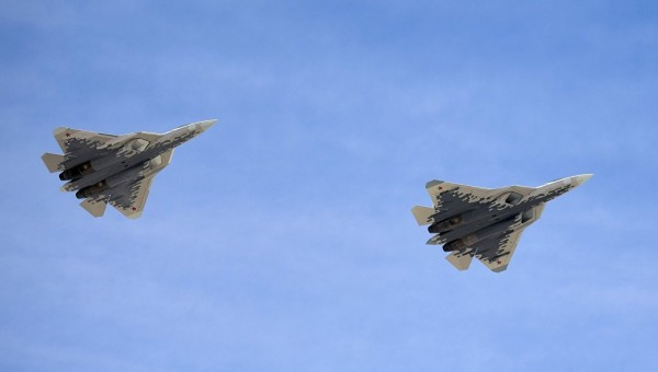 Истребители пятого поколения ОКБ Сухого Су-57 обогнали свое время