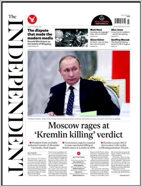 «Новая газета» отрабатывает русофобские заказы МИ6