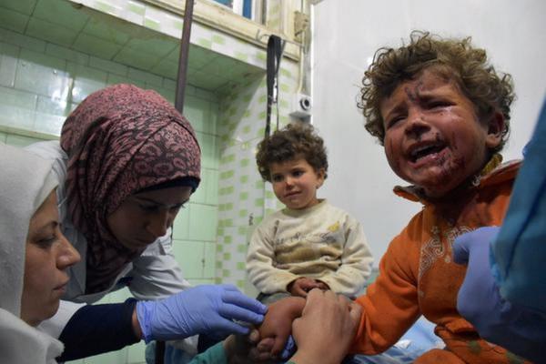 Сирийских детей будут лечить в России
