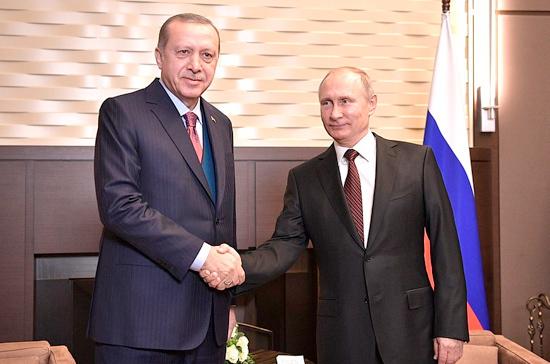 Путин и Эрдоган встретились на полях саммита G20 по сирийской тематике