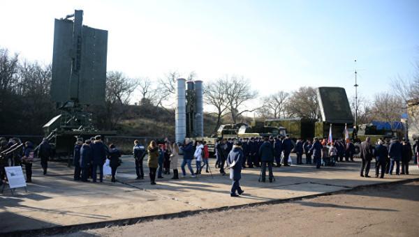 В Севастополе заработал  военно-патриотический парк