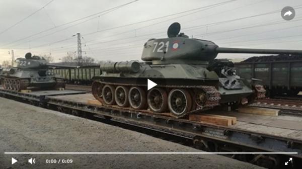 Легендарные танки Т-34 с почетом вернулись из Лаоса домой