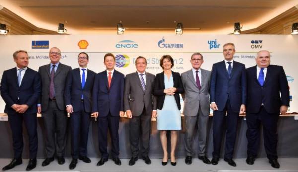Европа между США и РФ: простые немцы поддерживают «Северный поток-2»