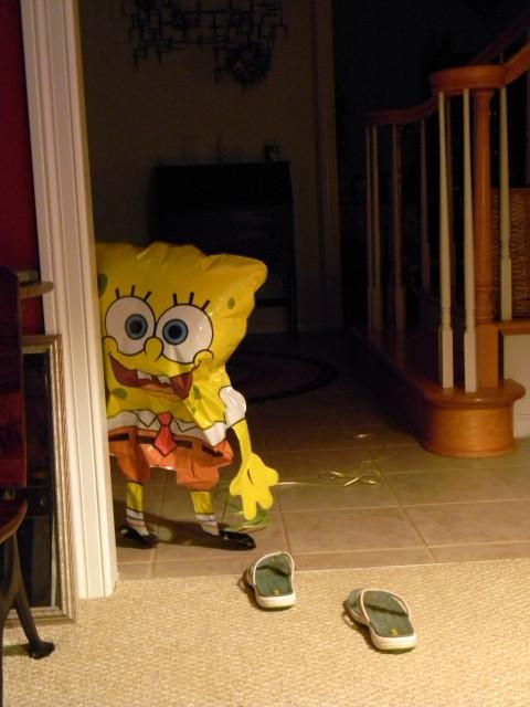 SpongeBob is watching you