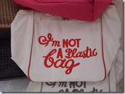 Plastic bags were banned in China as of June 1, 2008.