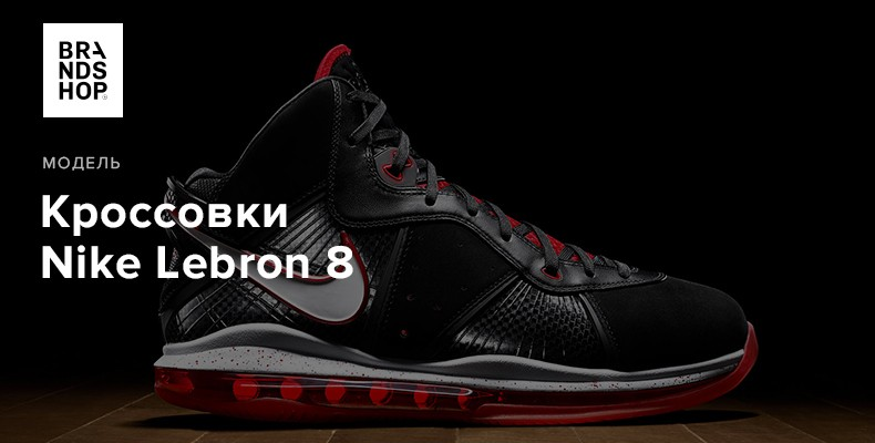 История модели кроссовок Nike Lebron 8