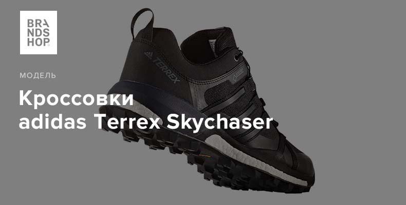 История модели кроссовок adidas Terrex Skychaser