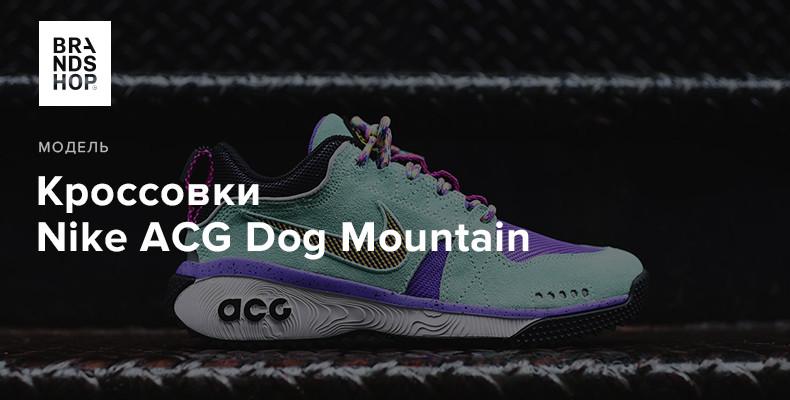 История модели кроссовок Nike ACG Dog Mountain
