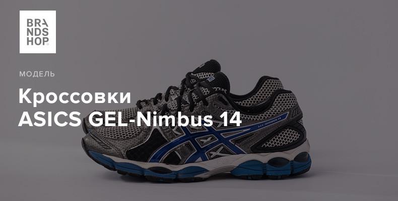 История модели кроссовок ASICS GEL-Nimbus 14