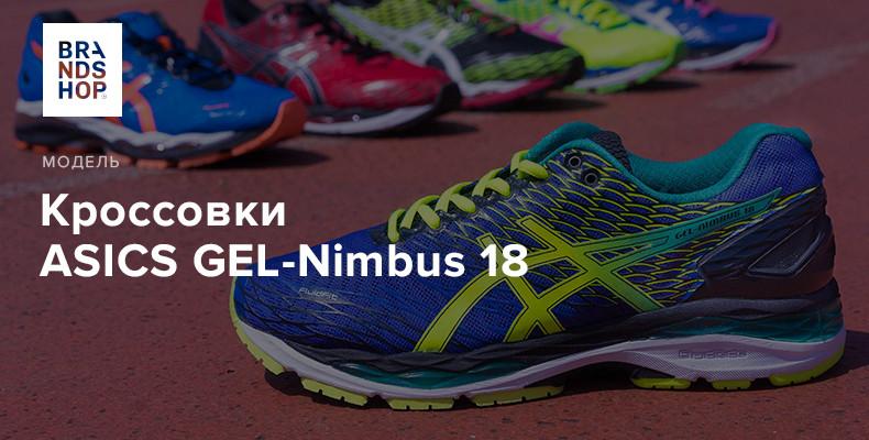 История модели кроссовок ASICS GEL-Nimbus 18