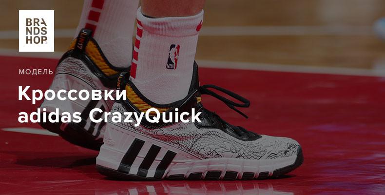 История модели кроссовок adidas CrazyQuick