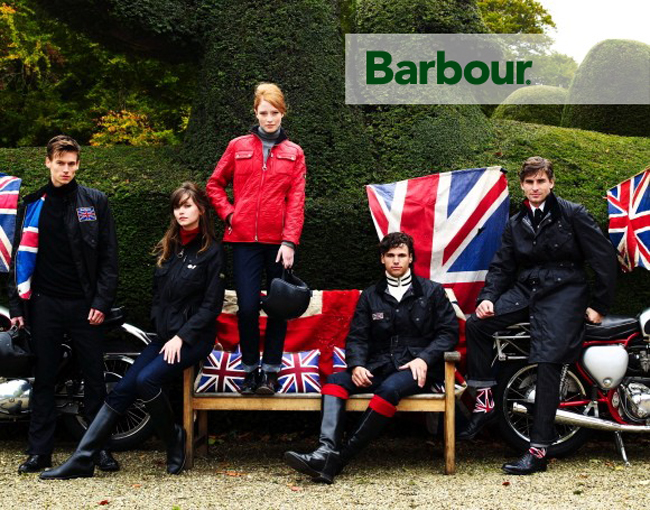 история barbour