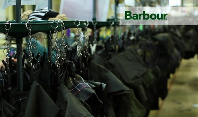 фабрика barbour