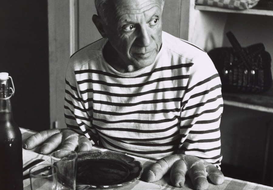 Пабло Пикассо в кофте Armor-Lux