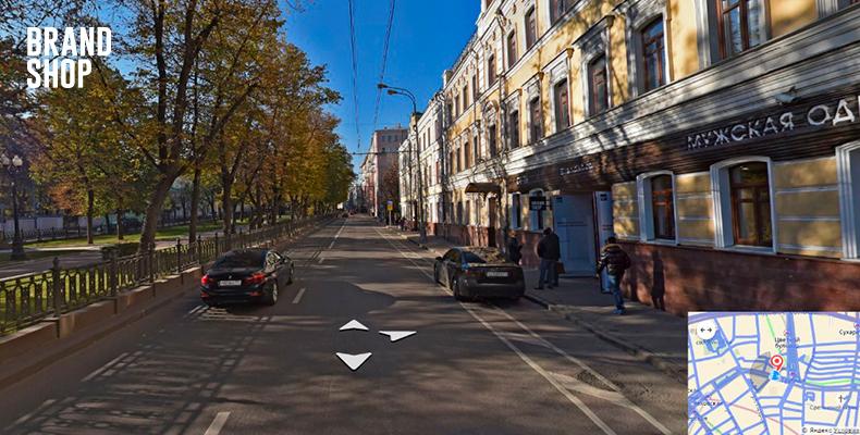 BRANDSHOP на Яндекс Картах панорама магазина шаг-5