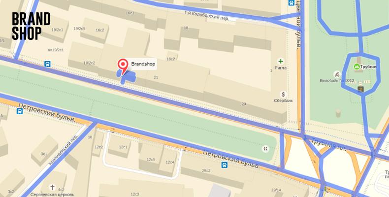 BRANDSHOP на Яндекс Картах панорама магазина шаг-7