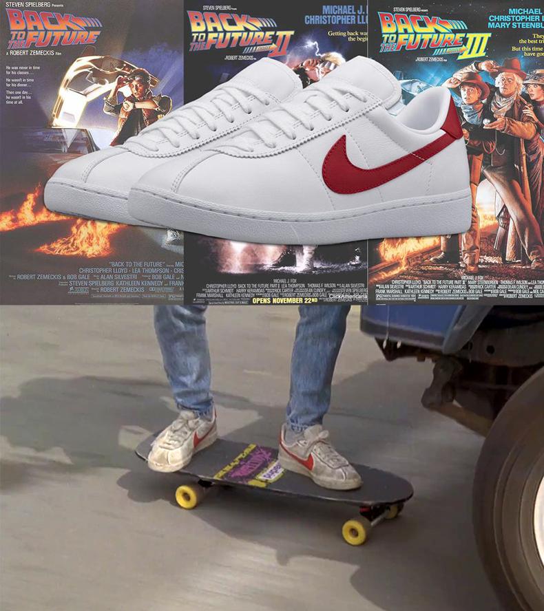Назад в будущее и Nike