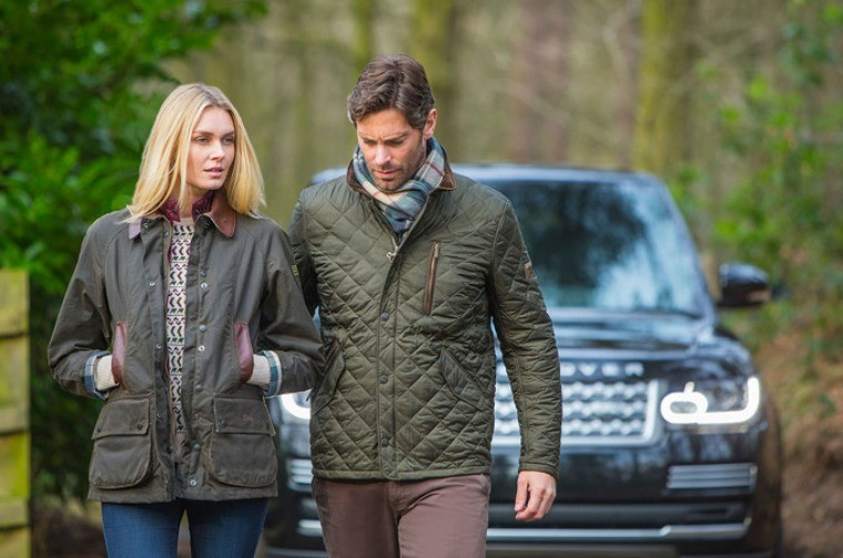 Коллекция Barbour x Land Rover