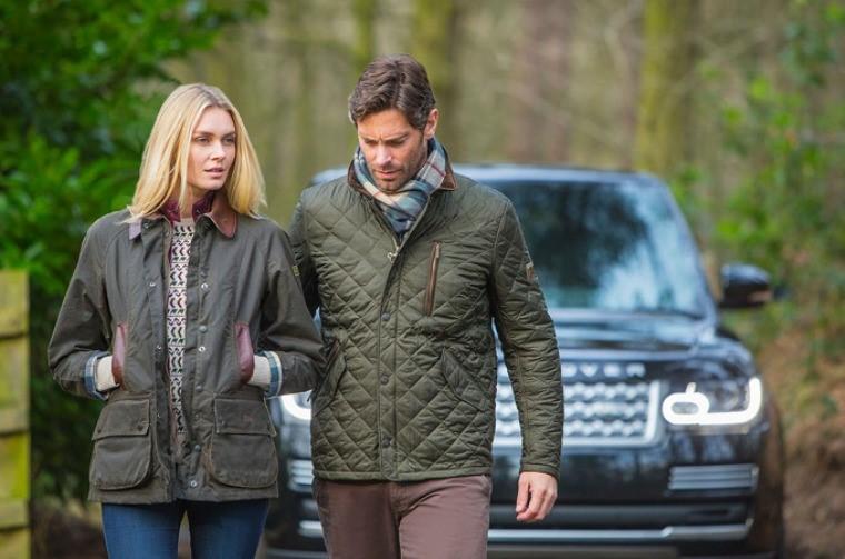Коллекция Barbour x Land Rover