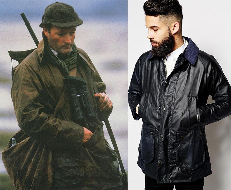 Вощеные куртки Barbour
