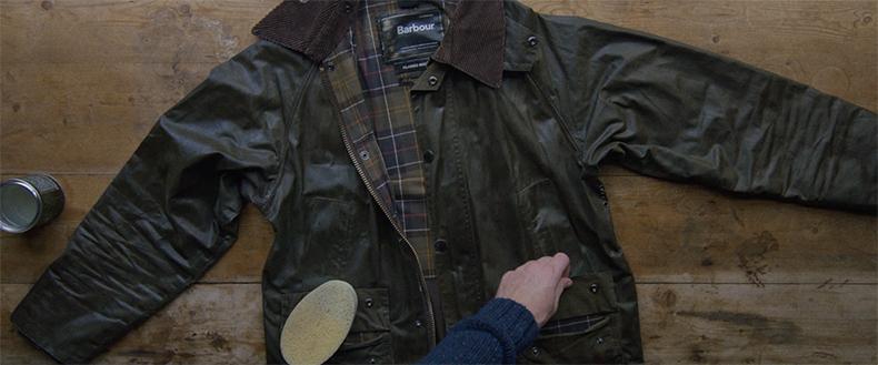 Как вощить куртку Barbour