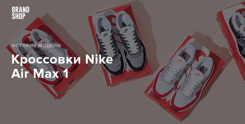 модель кроссовок Nike Air Max 1