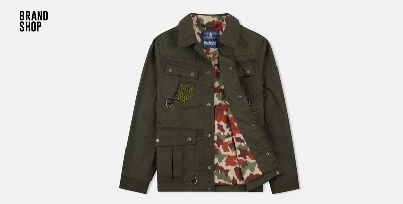 Barbour x White Mountaineering Collection
