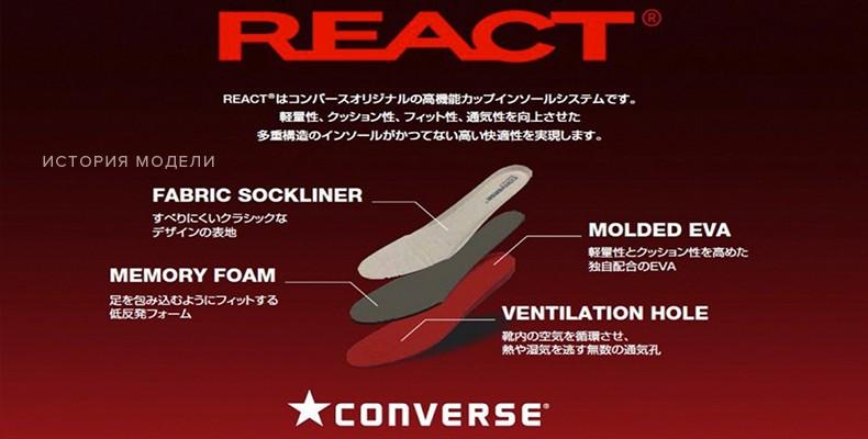 Converse REACT
