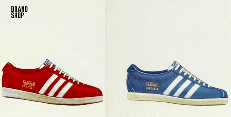 История появления adidas Gazelle
