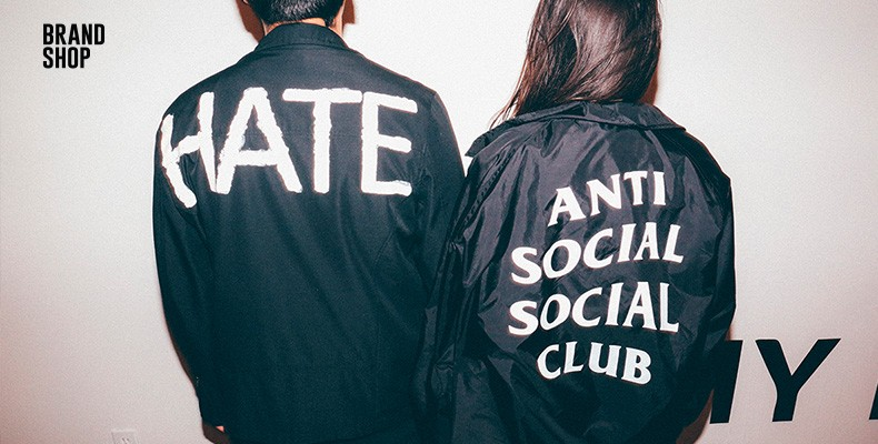 одежда Anti Social Social Club