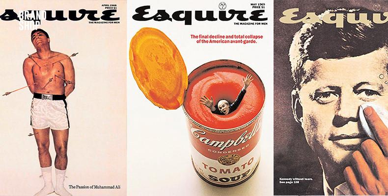 Обложки журнала Esquire