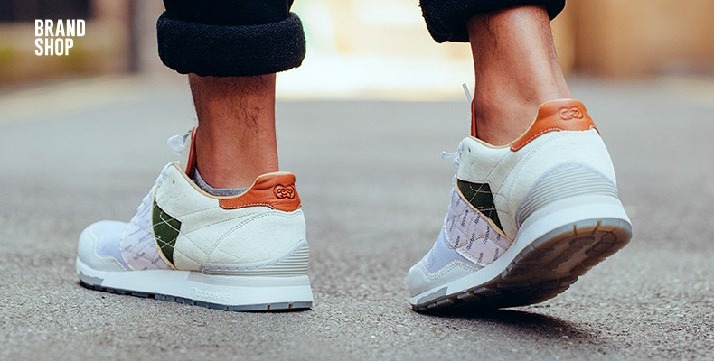 Мужские кроссовки  Reebok x Garbstore Classic Leather 6000