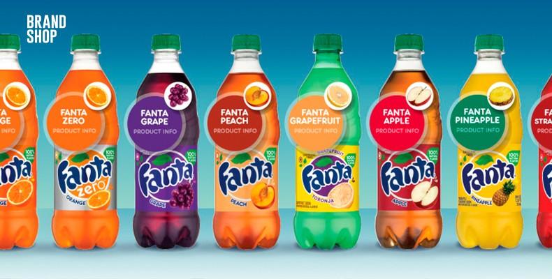 Вкусы Fanta