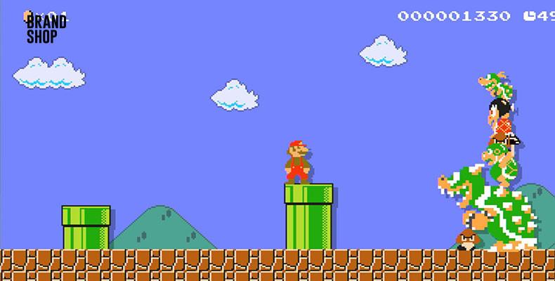 История появления Super Mario